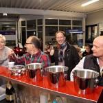Erster Einsatz der mobilen Cafe-Bar